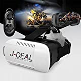 J-DEAL 3D VR Virtual Reality Headset 3D Glasses Adjust Cardboard VR BOX For 4.7~6