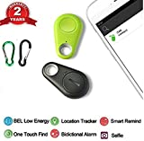 Image of flyfishing RR-1-20-5 Spy GPS Tracker Smart Finder Bluetooth Locator Wireless Anti Lost Alarm Sensor For Key Wallet Car Kids Pets Dog Cat Child Bag Phone Located Selfie Shutter pack of 2