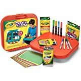 Crayola Create 'N Carry 75Pc Art Kit Art Gift for Kids 5 & Up