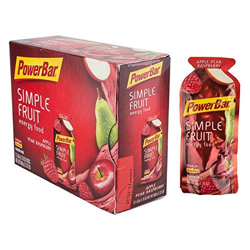 PowerBar Simple Fruit Energy Food - Apple Pear Raspberry (Energy Pear)