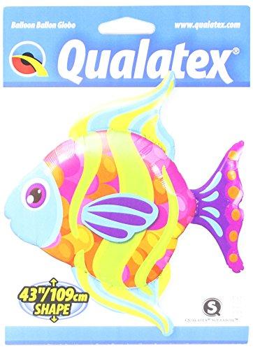 Qualatex Foil Balloon 016448 Fashionable Fish, 43