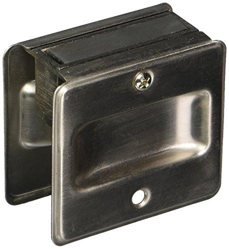 Schlage Satin Nickle Finish Sliding Pocket Door Pull SC990B-