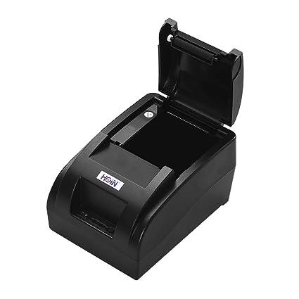 Festnight HOIN Pequeña impresora portátil portátil de 58 mm ...