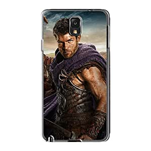 Great Hard Cell-phone Case For Samsung Galaxy Note3 With Customized Realistic Spartacus Image LauraAdamicska