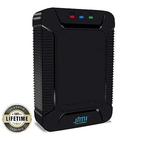 JIMI X3 GPS Tracker Localizador GPS+AGPS Real Time Protección Antirrobo, Rastreador GPS para