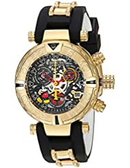 Invicta Womens Disney Limited Edition Swiss Quartz Stainless Steel and Silicone Casual Watch, Color:Two Tone...