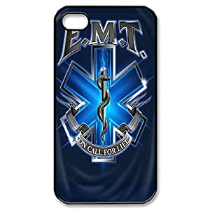 Fancy EMT EMS Medical Rescue bunch Lightweight Printed mean Hard Plastic case Snap-on cover for iphone 6 4.7 such 6 4.7 6 4.7g- Black 022606 4.7 Just