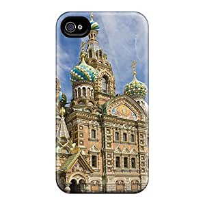 Bernardrmop BFHiNSy6251wXpPl Case Cover Iphone 4/4s Protective Case Russian Church hjbrhga1544