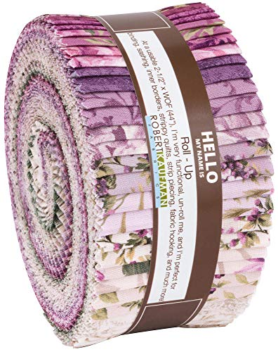 Meredith Roll Up 40 2.5-inch Strips Jelly Roll Robert Kaufman Fabrics RU-855-40