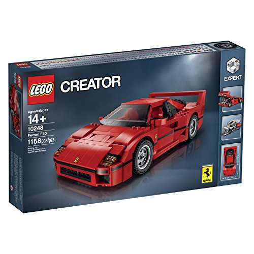 LEGO Creator Expert Ferrari F40 10248 Construction Set](Red Car Lego)