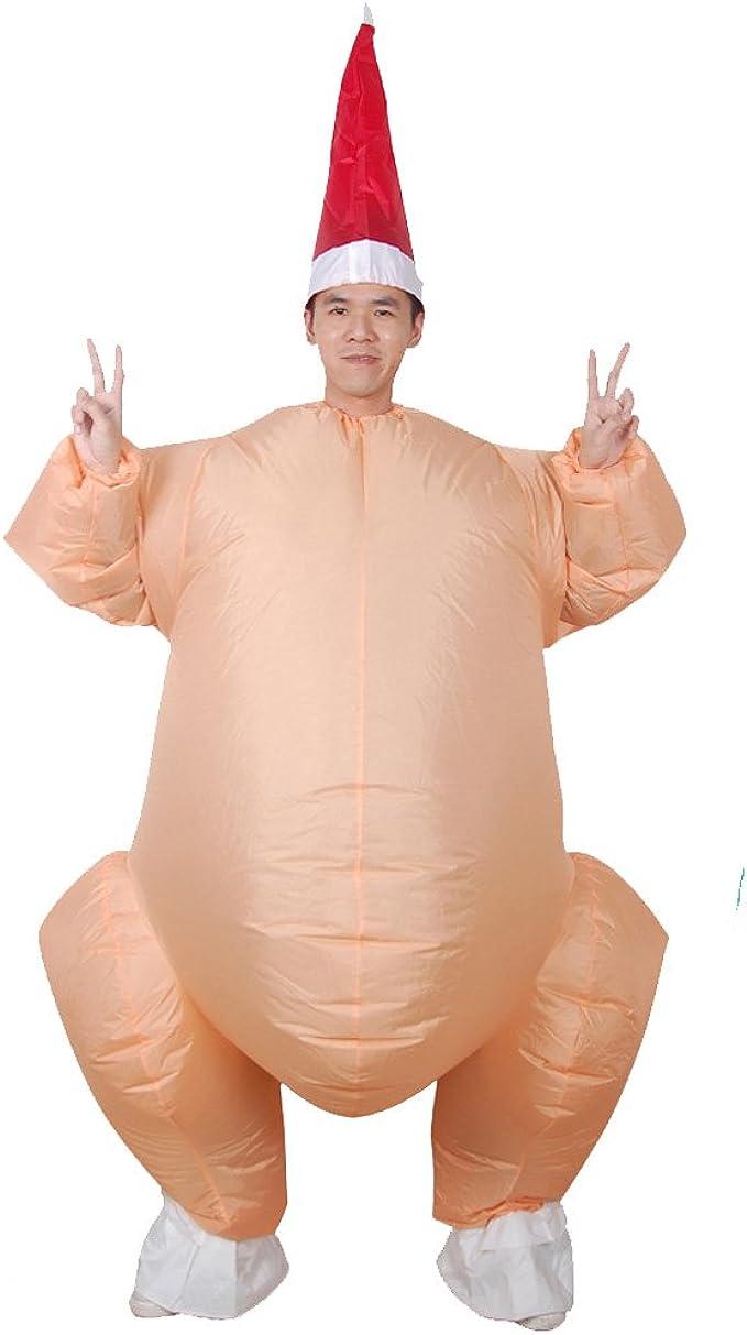 Amazon.com: vantina inflable adulto disfraz Funny Turquía ...
