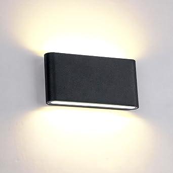 Decoration Lampe Murale Moderne Aluminium Bas Chaud Chambre Bureau En Blanc Led 12w Pour Haut Applique Eclairage Extérieur Noir Intérieur 3qj5RA4L