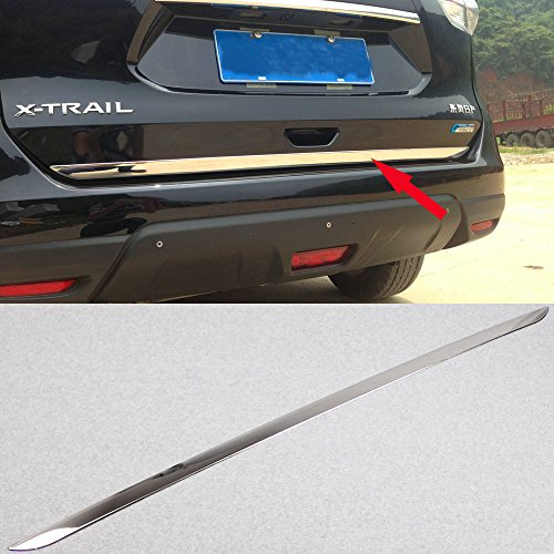 Generic ABS Chrome Auto Rear Trunk Lid Molding Trim Fit For Nissan X-Trail Rogue 2014 2015 2016