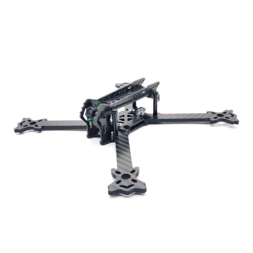 KINGDUO Arruissi F210Gx 210Mm FPV Racing Frame Normal x Freestyle Frame Kit 4Mm Arm Carbonfaser