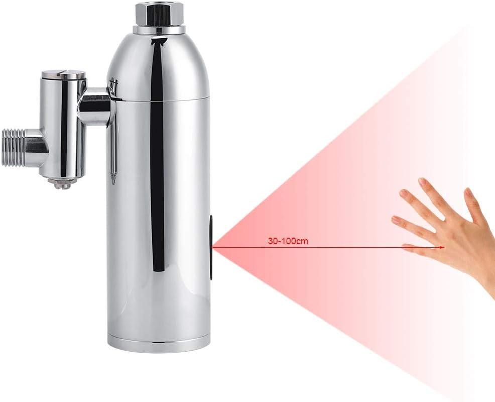 Cocoarm Robinet de rin/çage en laiton pour urinoir Montage mural Salle de bain Capteur automatique intelligent