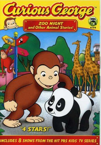 Curious George - Zoo Night & Other Animal Stories -