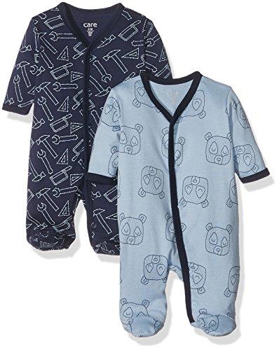Care Baby-Jungen Spieler 4136, 2er Pack, Mehrfarbig (Royal Blue 750), 56