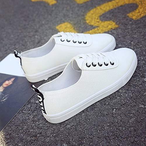 Dance Casual Ginnastica Sneaker Daytwork Scarpe Camminare Top Trendy Da  Ragazze Skateboard Outdoor Donna Nero Bianco ... 7cb0e82bce1