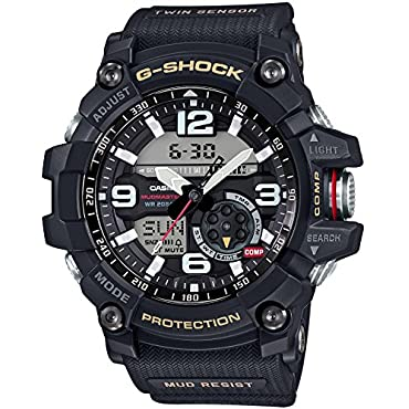 Casio G-Shock Master of G Mudmaster Watch, Black (GG-1000-1A)