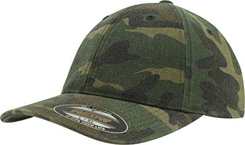 Flexfit Garment Washed Cap - wood camo - L/XL