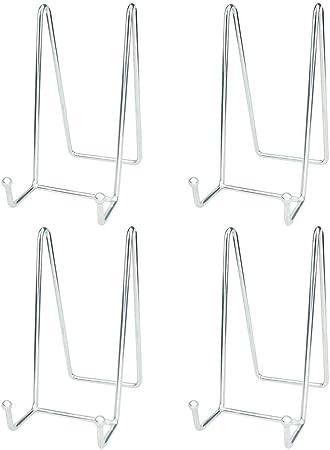 Carte Assiette Noir Et Transparent Support Présentoir Moderne Stand//Chevalet