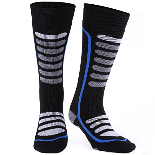Andake Merino Wool Ski Socks High Performance Thermal Warm Cushioned Boot Socks Outdoor Winter Sport Snowboard Socks