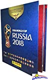 2018 Panini FIFA World Cup Russia Stickers HARD COVER Collectors Album with 80 Pages! Amazing Collectible to Hold all your NEW 2018 World Cup Russia Soccer Stickers! Authentic USA Version! WOWZZER!