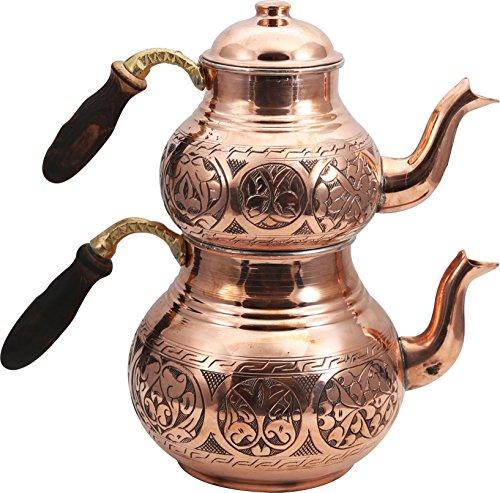 antique copper tea pots - 9