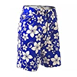 Royal & Awesome Men's Golf Shorts, Hawaii Five Oh, 34' Waist-86 cm