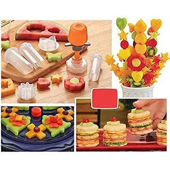 Amazon.com: Kitchen-Essential Edible Party Bouquets Magic Fruit Special Shape Cutter: Kitchen ...