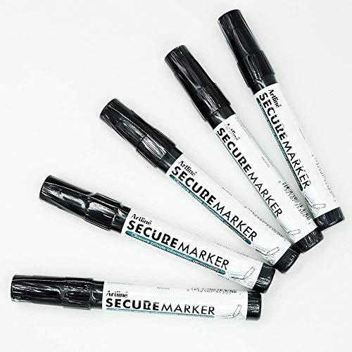 -  Artline Secure Marker 4.mm Chisel EKSC-4 (5 Pack)