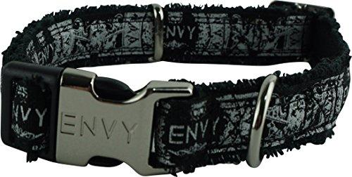 Nipper & Chipper Envy Hippy Dog Collar, Medium, (Hippy Dog)