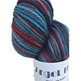 New Product: Angel DK, Hand Dyed Alpaca/Silk/Cashmere Yarn 70/20/10%, Hand Painted: Baltic, Dk Weight, 100 Grams~246 Yards