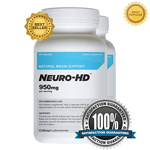 Cellusyn Neuro-HD Brain Supplement for Neural and Cognitive Enhancement, 60 Capsules - 2 -