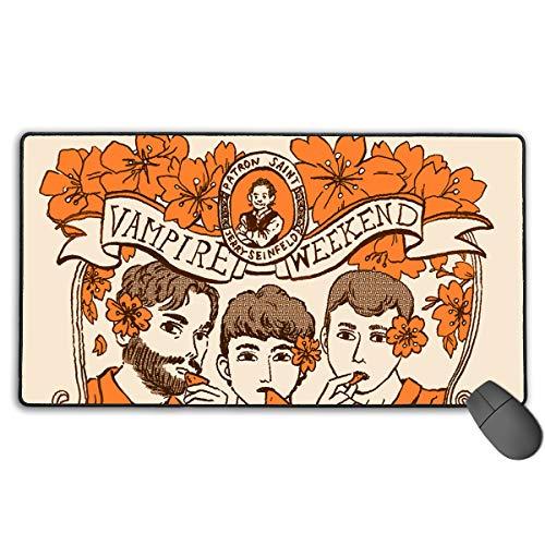 BeatriceBGault Vampire Weekend Vampire Weekend Games Comfortable Extended Gaming Mouse Pad(29.5Ã-15.7Ã-0.12 Inch)(29.5Ã-15.7Ã-0.12 - Hardware Abi