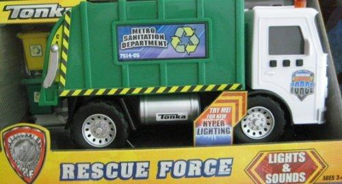 Tonka Lights & Sound - Rescue Force - Metro Sanitation Depar