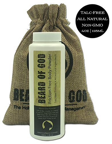 Back Country Green - Talc & Friction Free Dusting Body Powder