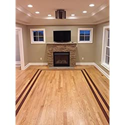 "Northern Red Oak Select Grade, 2.25"" wide x 3/4"" thick, Random Lengths, Solid Unfinished Hardwood Flooring (20 sq. ft/bundle)"