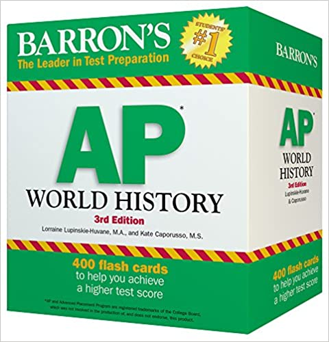 Amazon barrons ap world history flash cards 3rd edition barrons ap world history flash cards 3rd edition 3rd edition gumiabroncs Choice Image
