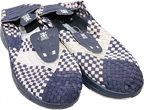 I-Path Skateboard Schuhe Weave Shoe Navy/White - 1B Ware
