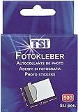 TSI - Pegamento autoadhesivo para fotos, 500 unidades