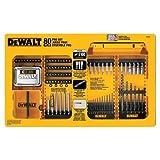DEWALT Drill/Driver Set, 80-Piece