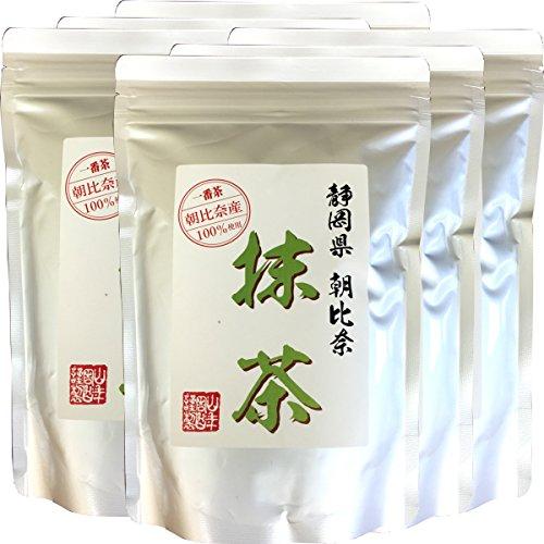 Japanese Tea Shop Yamaneen Powdered green tea A powder Asahina 100g x 6packs by Japanese Tea Shop Yamaneen