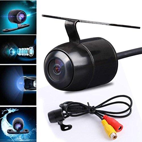 Quaanti Car-Styling Vehicle Camer Waterproof 170 CCD Car Rear View Reserve Backup Parking Camera IR Night Vision Dropship (Black) by Quaanti (Image #1)