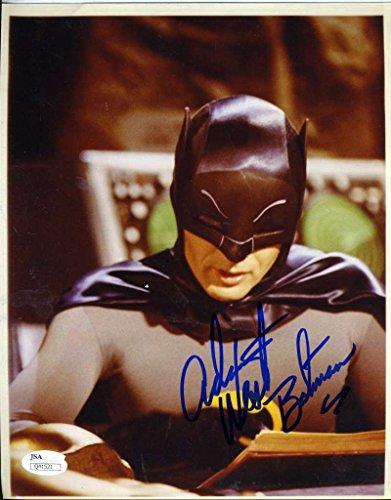 adam-west-batman-jsa-coa-hand-signed-8x10-photo-authenticated-autograph