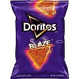 #1: Doritos Flavored Tortilla Chips, Blaze, Sample, 3.125 Ounce Bag