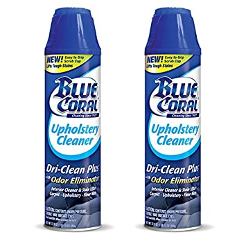 Amazon Com 2 Pack Blue Coral Upholstery Cleaner Dri Clean Plus