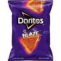 Doritos Flavored Tortilla Chips, Blaze, Sample, 3.125 Ounce Bag