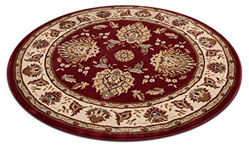 Brick Red Oriental Rug - Well Woven 36000 Timeless Abbasi Traditional Persian Oriental Red Area Rug 5'3