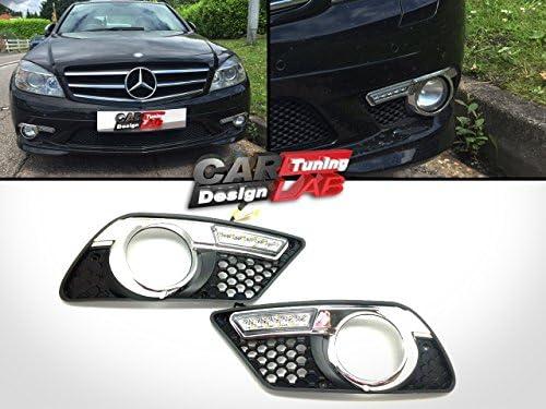 (2) bombillas LED de conducción diurna, Luz antiniebla DRL